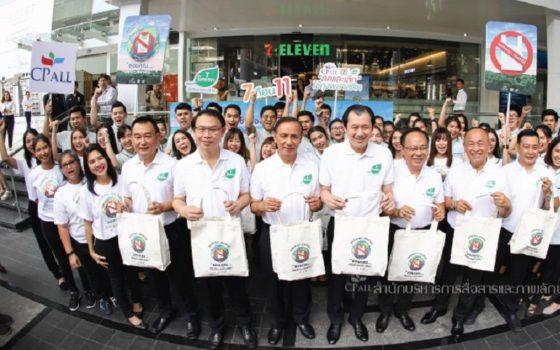 7-Eleven в Таиланде окончательно отказывается от использования пластиковых пакетов