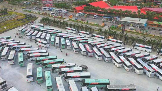 Корпоратив по-китайски в Паттайе - банкет для 10 тысяч сотрудников (ВИДЕО)