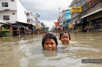 Масштабное наводнение в Таиланде унесло жизни 35 человек