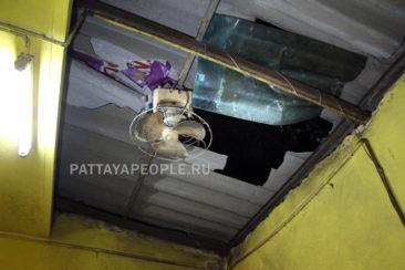 Пьяный россиянин упал с крыши в Паттайе