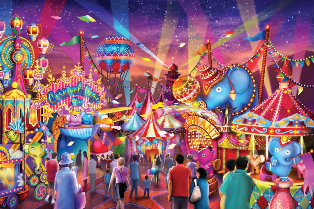 Карнавал шоу на Пхукете - уникальный мега-парк развлечений (ВИДЕО)