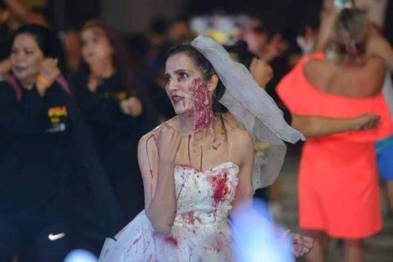 Зомби Зумба Пати Бич в Паттайе - Хэллоуин 2019