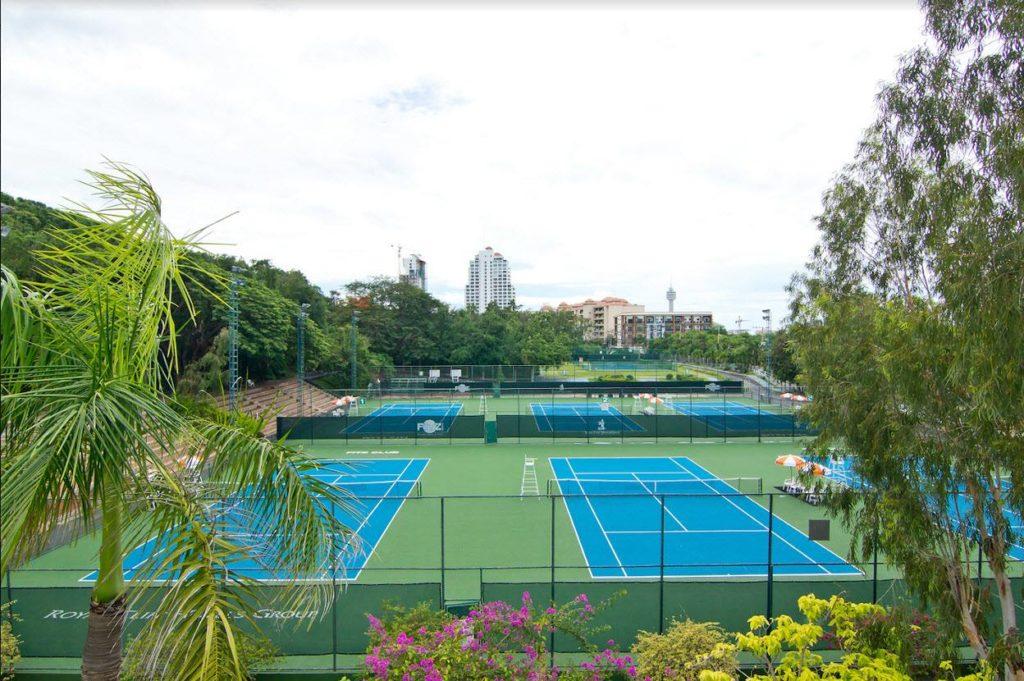 Большой теннисный турнир в Паттайе