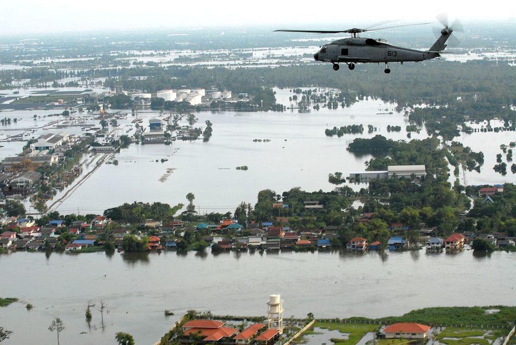 К 2050 году Бангкок полностью уйдёт под воду