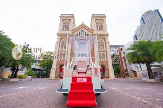 Папамобиль для Папы Римского в Таиланде