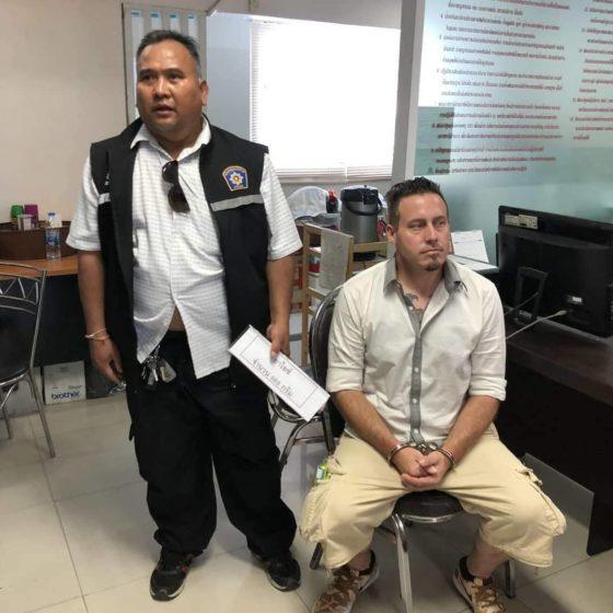 Трое опасных заключённых напали на охрану и совершили побег из суда Паттайи