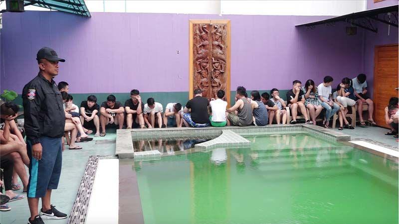 В Таиланде арестовали более 50 китайских подростков