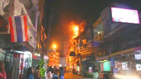 Пожар в отеле Holiday Inn в Паттайе, эвакуированы 400 туристов (видео)