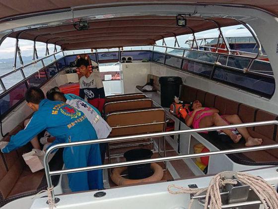 Туристы из России пострадали в Таиланде при столкновении катера с яхтой