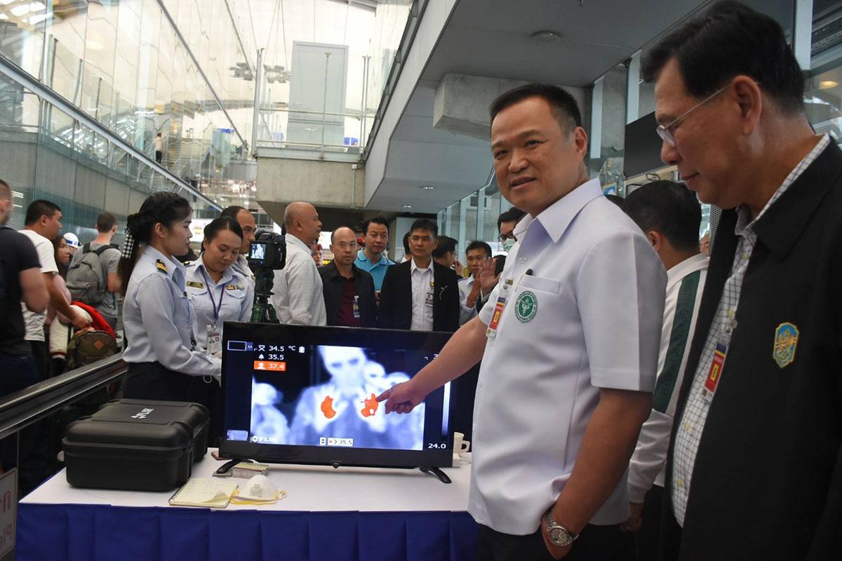 Китайский коронавирус — ситуация в Таиланде