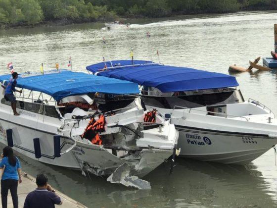 Два ребёнка из России погибли в Таиланде в результате столкновения скоростных катеров