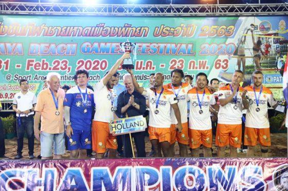 Команда России — чемпион по пляжному футболу в Таиланде 2020