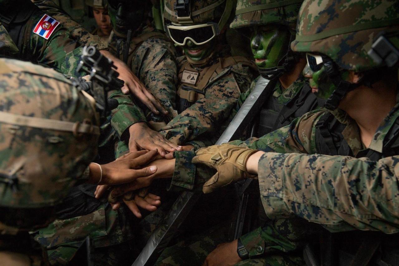 Военные учения Кобра Голд 2020 в Таиланде (видео)