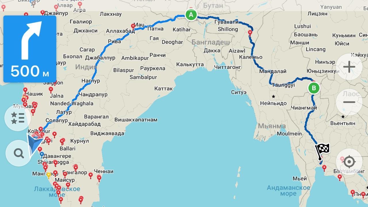 Из Индии в Таиланд на автобусе — приглашаются искатели приключений