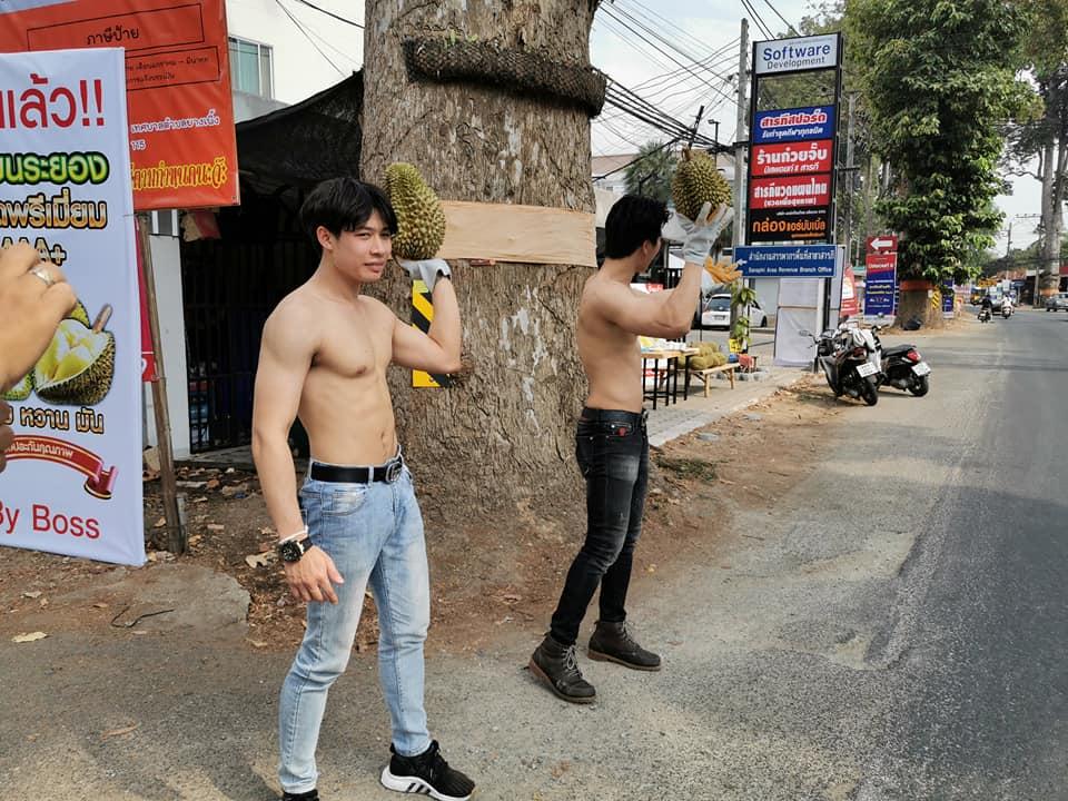 Сезон дурианов в Таиланде