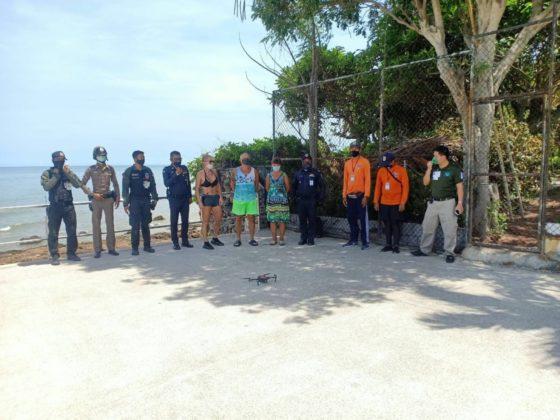Россиян арестовали в Таиланде за купание в море