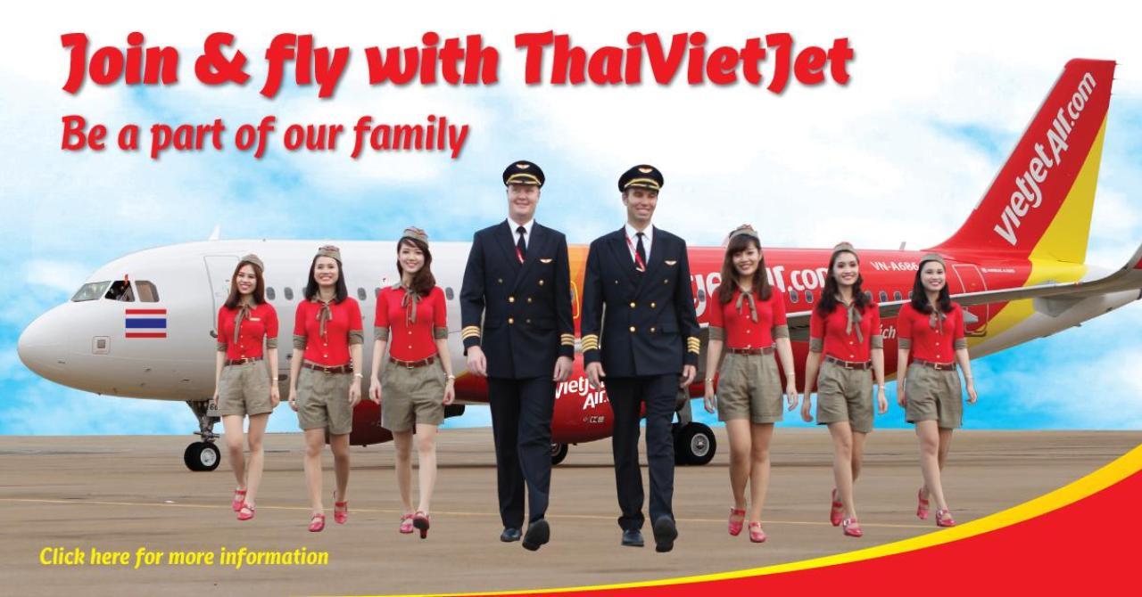 Авиакомпания Thai Vietjet запускает в Таиланде 5 новых маршрутов с тарифами от 5 батов