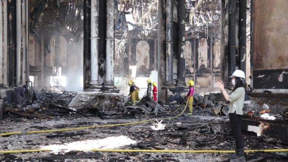 В Паттайе сгорел дворец Куриного короля