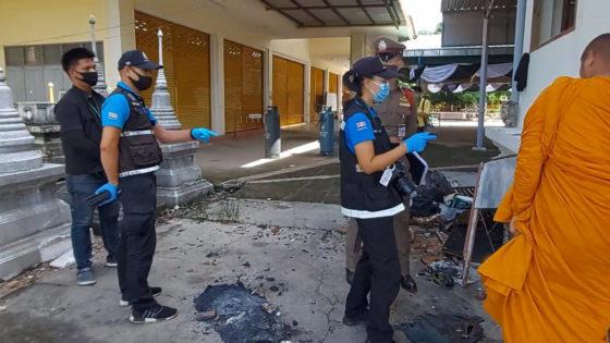 Военный карантин в отеле Амбассадор в Паттайе, взрыв на похоронах, видеонаблюдение на Самуй