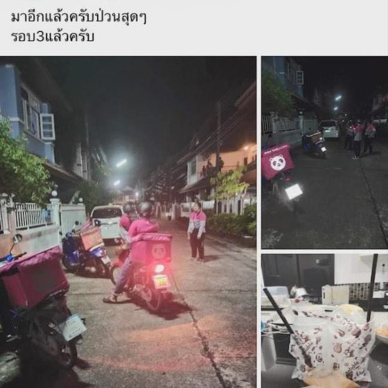 Компанию доставки Foodpanda жёстко разыграли в Таиланде