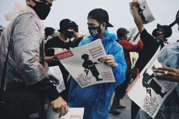 Протестующие в Таиланде призывают к реформе монархии и всеобщей забастовке (фото)