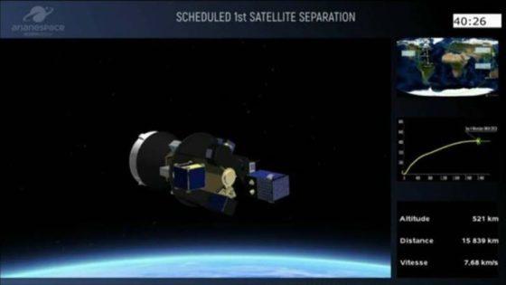 Таиланд запустил в космос первый спутник