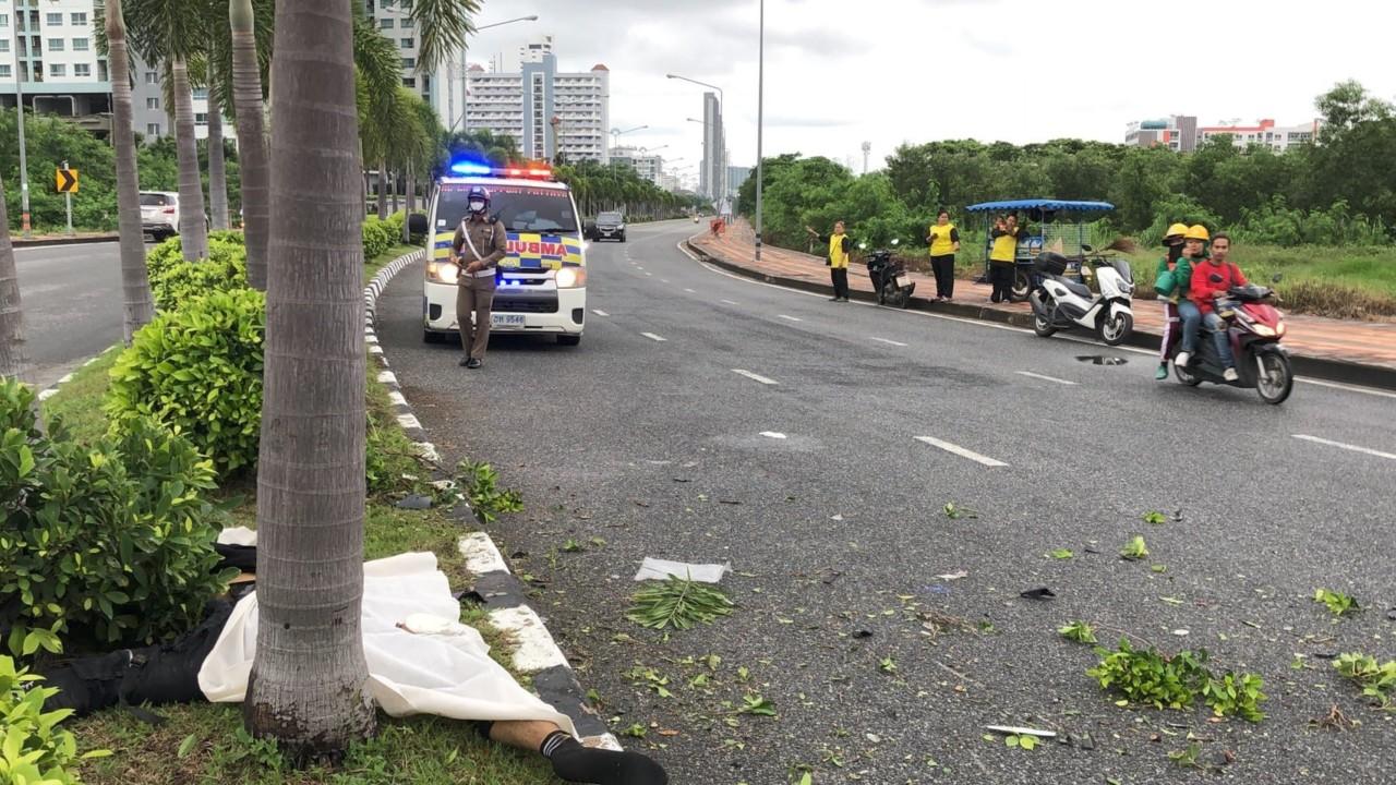 Опасная гонка в Паттайе завершилась трагедией