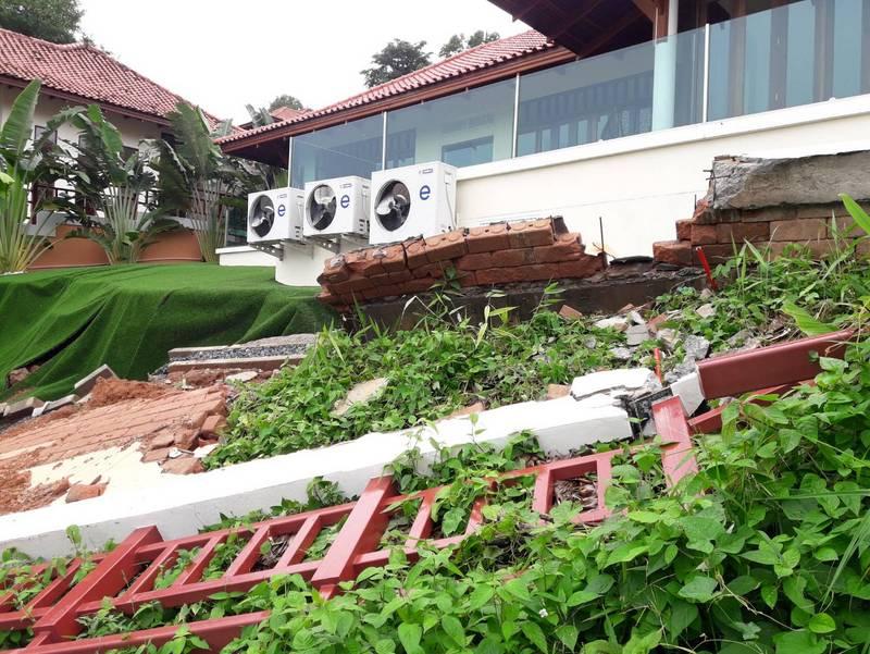 Оползни на Пхукете угрожают разрушить роскошные виллы