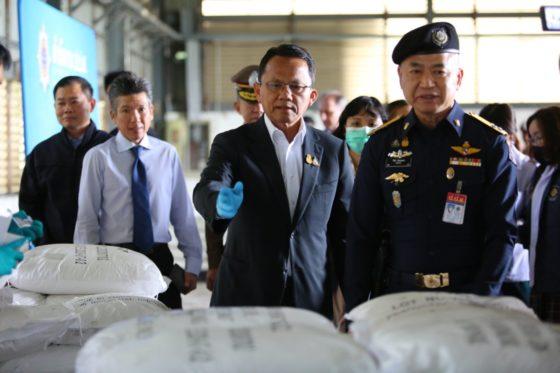 Арестованные 11 тонн кетамина в Таиланде оказались натриевой солью