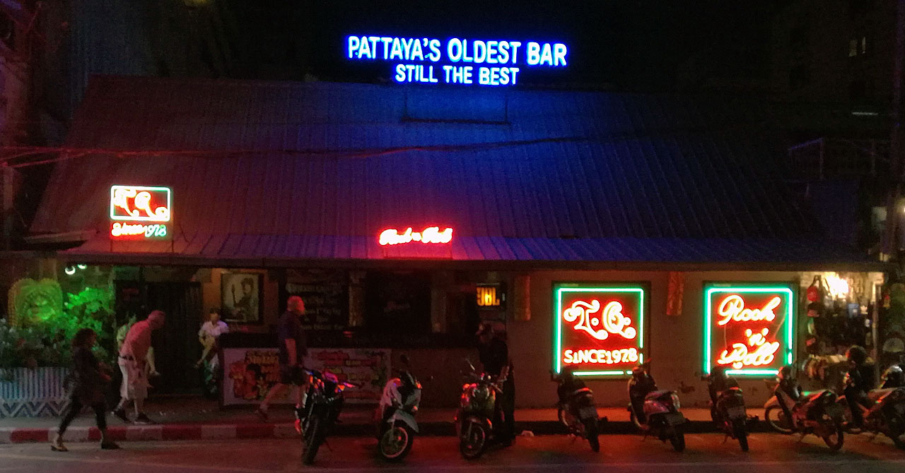 Самый старый бар в Паттайе закрылся после 42 лет работы