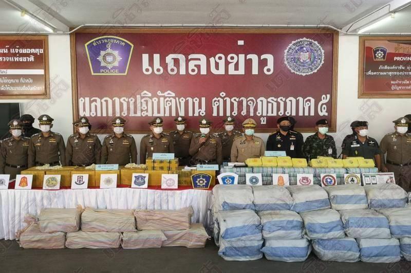 Полтонны героина изъяли в Таиланде в день святого Валентина