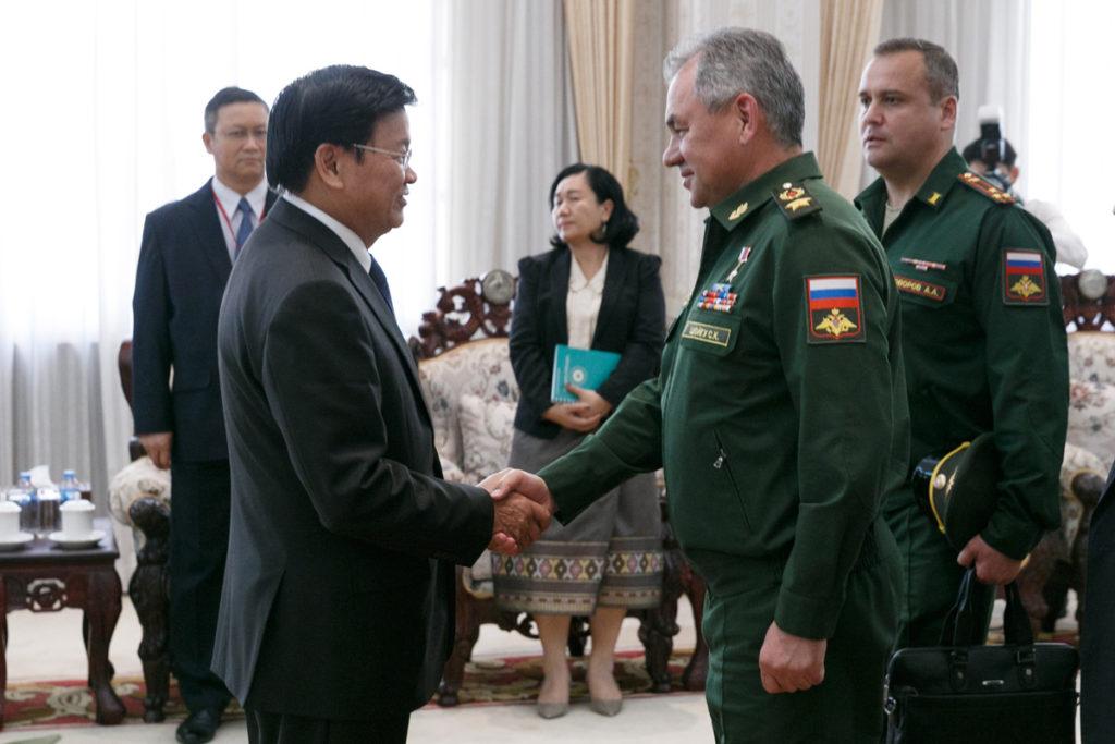 Российская армия строит военный аэродром в Лаосе
