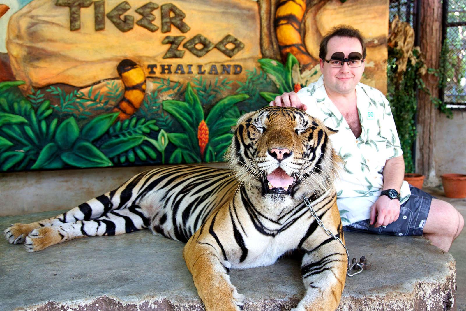 Тигровый зоопарк в Таиланде закрылся навсегда