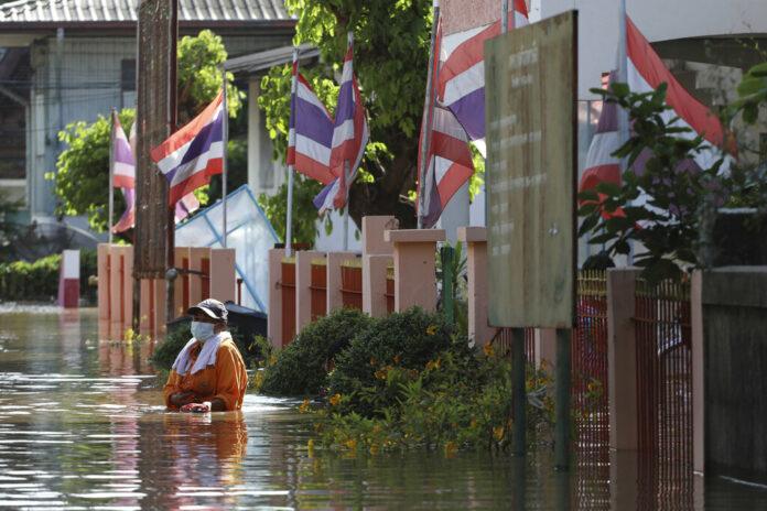 Наводнение в Таиланде — большая вода в Бангкоке